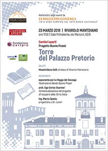23 marzo - Rivarolo - Torre del Palazzo Pretorio