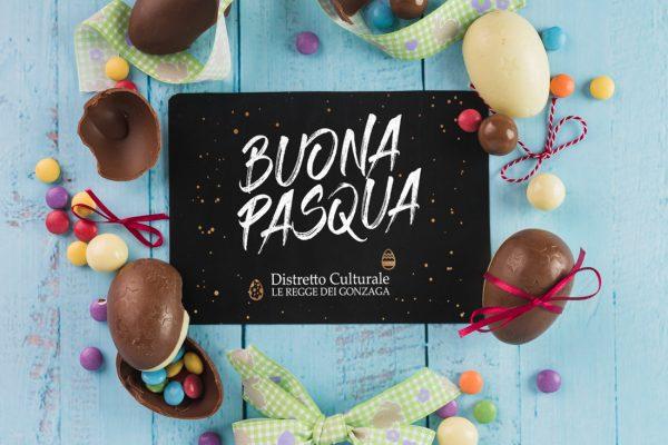 Il Distretto Culturale LE REGGE DEI GONZAGA vi augura Buona Pasqua