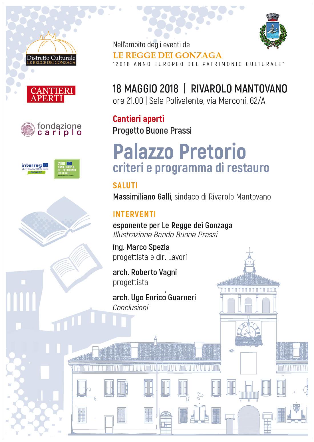 Palazzo Pretorio. Criteri e programma di restauro