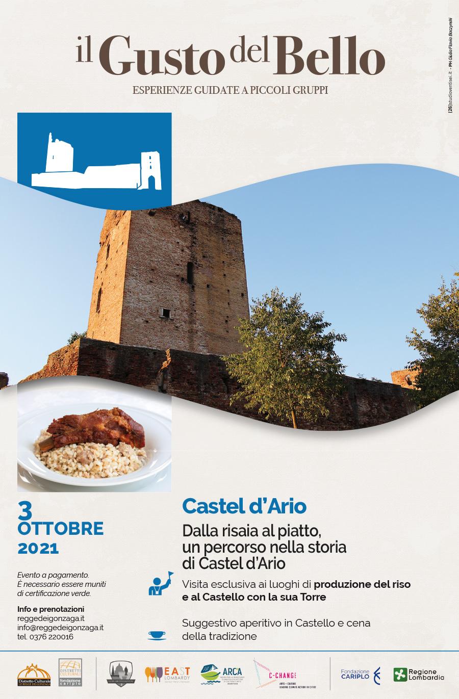 Il gusto del bello - Castel d'Ario